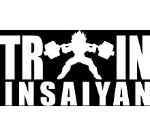 TRAIN INSAIYAN (Iconic Vegeta) Photographic Print