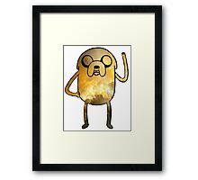 Jake The Dog - Galaxy Edition Framed Print