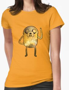 Jake The Dog - Galaxy Edition Womens Fitted T-Shirt