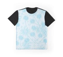 Dandelion Plants, Flower Heads - Pale Blue Graphic T-Shirt