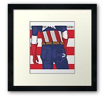 Born in the U.S.A Framed Print