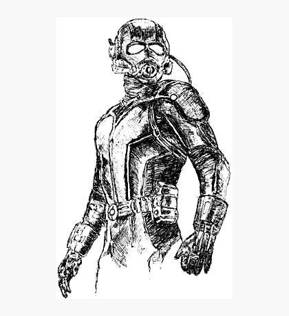 Ant-Man art Photographic Print