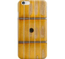 Maple guitar fretboard iPhone Case/Skin