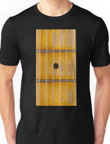 Maple guitar fretboard Unisex T-Shirt