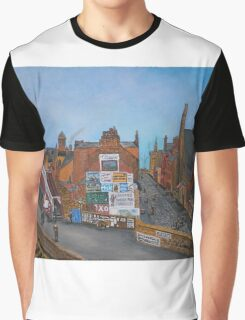 Old Port Glasgow, Train Station Graphic T-Shirt