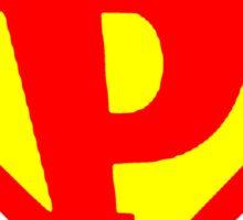 P Super Sticker