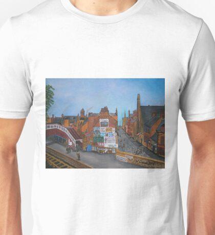 Old Port Glasgow, Train Station Unisex T-Shirt