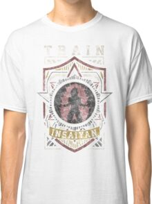 TRAIN INSAIYAN (Shield Logo) Classic T-Shirt