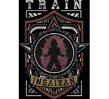 TRAIN INSAIYAN (Shield Logo) Photographic Print