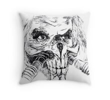 Mad Max Immortan Joe art Throw Pillow