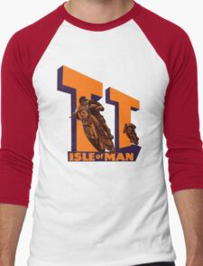 ISLE OF MAN TT VINTAGE ART Men's Baseball ¾ T-Shirt