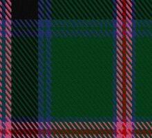 00018 Cooper/Couper Clan/Family Tartan Sticker