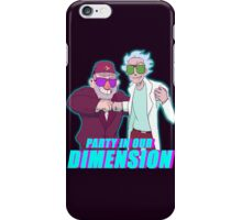 Party Grampstas- GF/RNM Crossover Picture iPhone Case/Skin