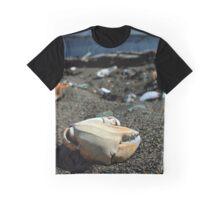 Crab Beach Graphic T-Shirt