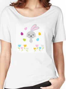 Beautiful adorable Easter bunny set Women's Relaxed Fit T-Shirt