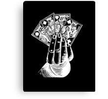 Magic Card Trick Canvas Print