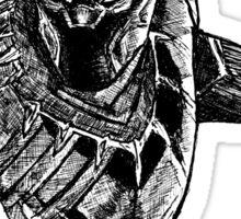 Black Panther art Sticker