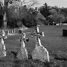 Hadstock Church Graveyard, Essex, UK by Igor Pozdnyakov