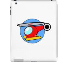 Cartoon Helicopter iPad Case/Skin