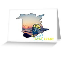 East Coast?  Pashhhaw it's the BEST COAST! Greeting Card