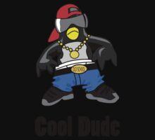 Cool Penguin Rapper Kids Tee