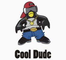 Cool Penguin Rapper One Piece - Short Sleeve