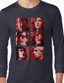Rocky Horror Reactions  Long Sleeve T-Shirt