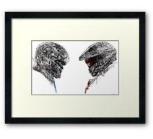 Halo 5 art Framed Print