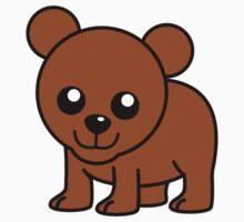 Cute Baby Bear One Piece - Short Sleeve