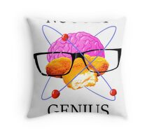 GMM Nugget Genius Throw Pillow