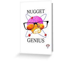 GMM Nugget Genius Greeting Card
