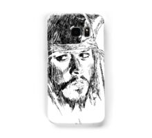Jack Sparrow art Samsung Galaxy Case/Skin