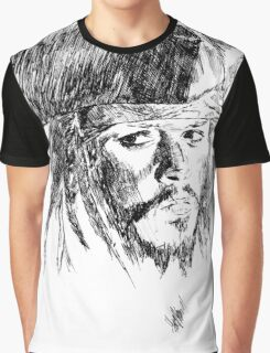 Jack Sparrow art Graphic T-Shirt