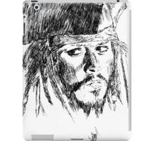 Jack Sparrow art iPad Case/Skin