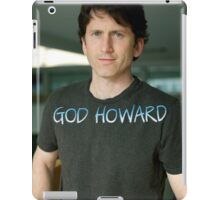 God Howard  iPad Case/Skin