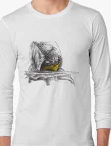 Scorpion Spear Mortal Kombat X Art Long Sleeve T-Shirt
