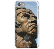 Statue of Rumanhaui in Cotacachi iPhone Case/Skin