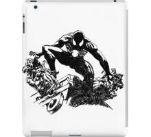 Black Spider-Man (Pen) iPad Case/Skin