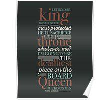 Deadliest Piece - Queen Poster