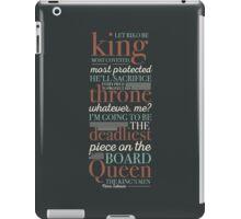 Deadliest Piece - Queen iPad Case/Skin