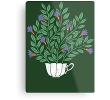 A Cup of Tea (Jasmine) Metal Print