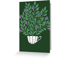 A Cup of Tea (Jasmine) Greeting Card