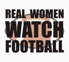 Real Women Football Kids Tee