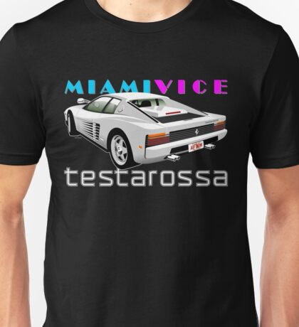 Ferrari Testarossa from Miami Vice Unisex T-Shirt