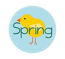 Spring Chick Photographic Print