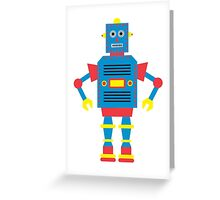 a humanoid Greeting Card