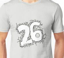 Doodled Twenty-Six Unisex T-Shirt