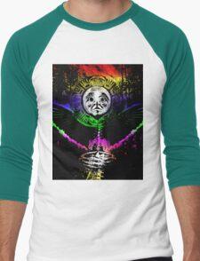 crow sun shaman Men's Baseball ¾ T-Shirt