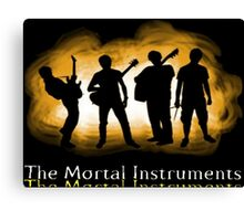 The Mortal Instruments Band Canvas Print
