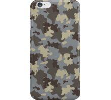 Brown camo iPhone Case/Skin